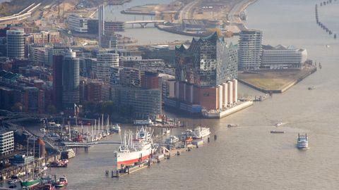 Lonely Planet kürt Top-Reiseziele: Luftaufnahme von Hamburg