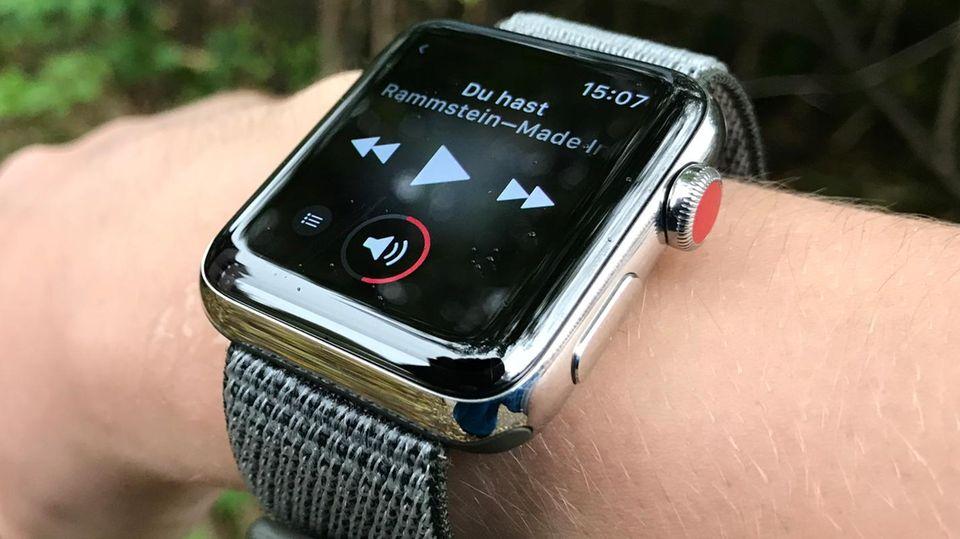 Musikstreaming auf der Apple Watch: Apple bringt 40 Millionen Songs aufs Handgelenk