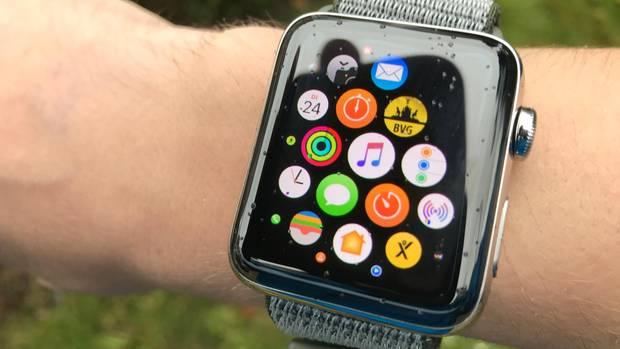 Die Musik-App und die neue Radio-App auf der Watch