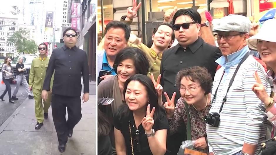 """Youtube-Prank: """"Kim Jong Un"""" sucht Donald Trump - wie ein Streich ganz New York verrückt macht"""