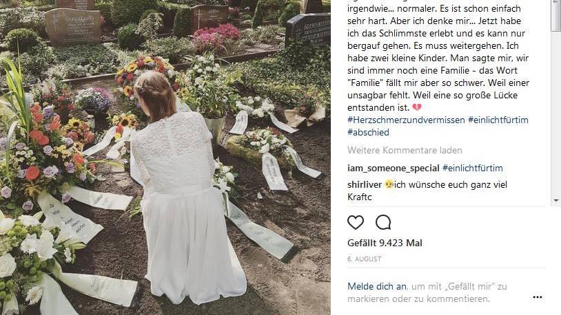 Trauer Maggy Walter Ist Witwe Mit 28 Ruhe In Frieden Mein