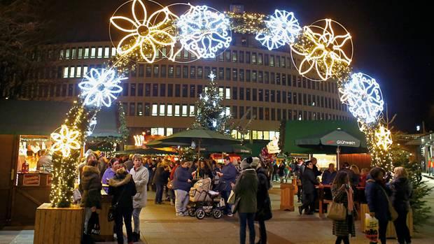 Seine Bombe auf dem Weihnachtsmarkt detonierte nicht
