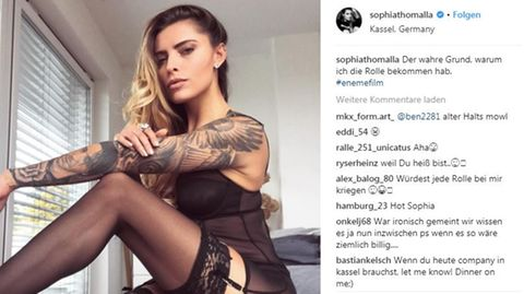 Sophia Thomalla auf Instagram