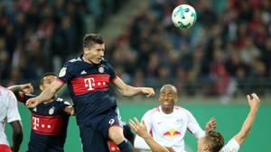 Bayern München und RB Leipzig lieferten sich im DFB-Pokal ein rassiges Spiel