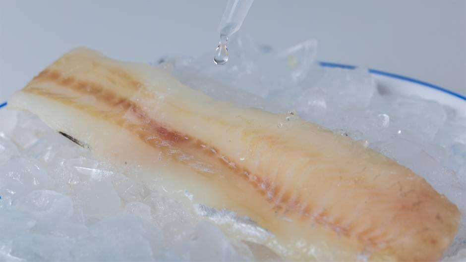 Mit der Zugabe von Wasser lässt sich das Gewicht von Tiefkühlfisch erhöhen