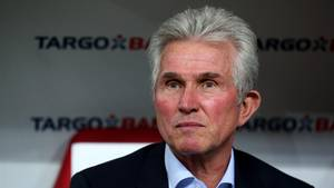 Jupp Heynckes auf der Bank des FC Bayern München