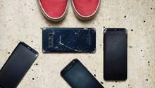 Samsung Galaxy S8, Note 8 und weitere Samsung-Smartphones mit gebrochenem Display
