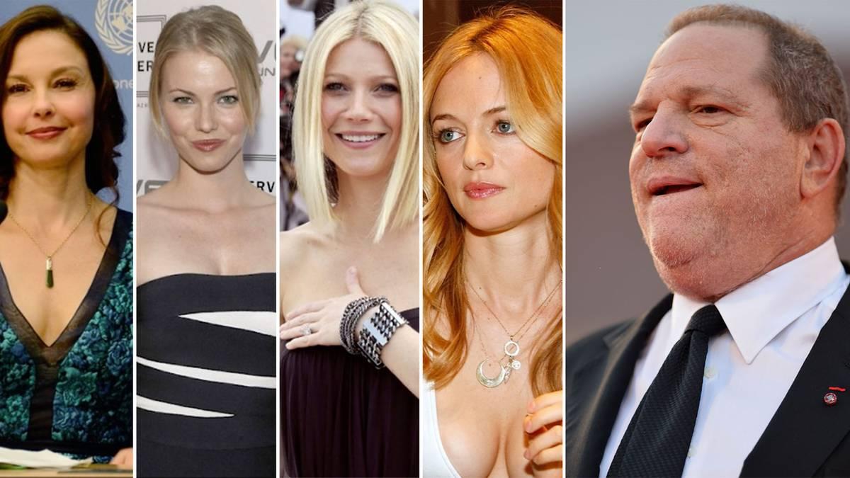 Skandal um Hollywood-Tycoon: Harvey Weinstein: Eine Chronologie plusieurs Grauens