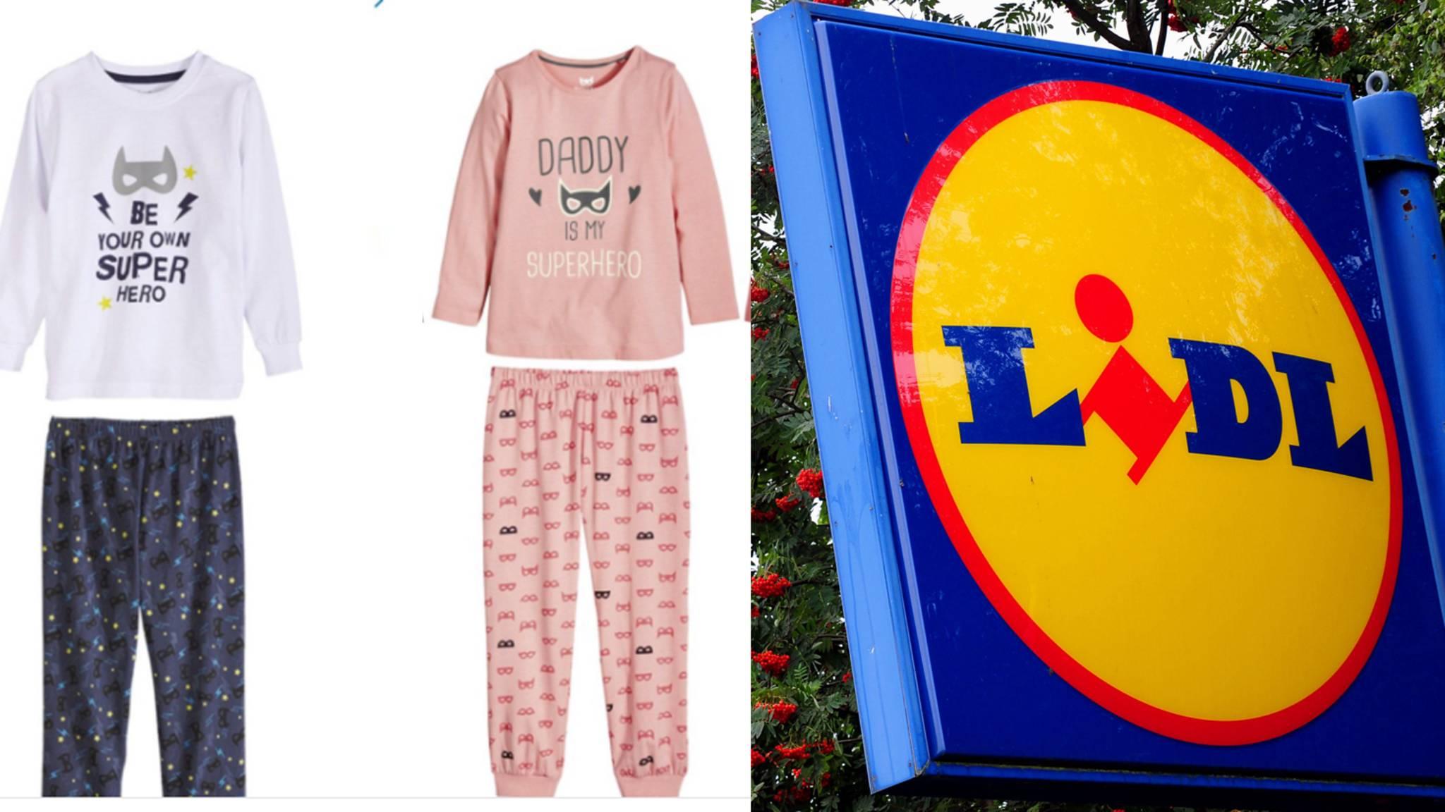 Wählen Sie für späteste angenehmes Gefühl Mode Lidl: Kinder-Schlafanzüge sorgen für Sexismus-Shitstorm ...