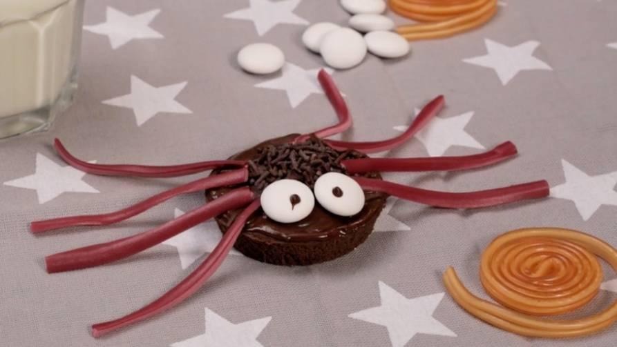 Rezeptidee: Diese Spinnenmuffins sind der absolute Halloween-Knaller