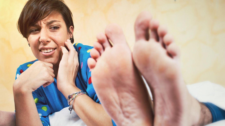 Riechen füsse Fußgeruch: Stinkende