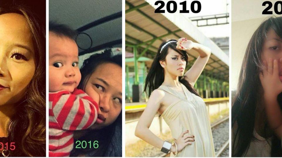 Instagram-Account: Vorher und hinterher – was Babys aus ihren Eltern machen
