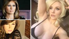 Melania Trump: US-Reality-Star Courtney Stodden parodiert die First Lady