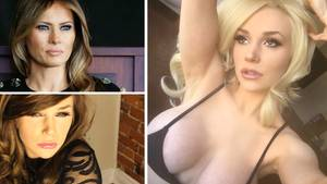 Melania Trump: US-Reality-Star Courtney Stodden parodiert die First Lady