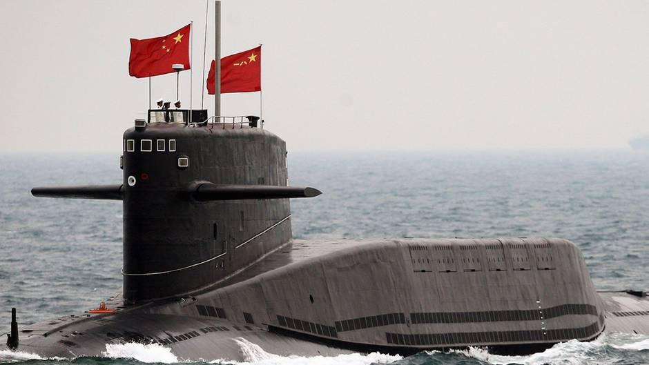 Chinas U-Boot-Waffe soll die übermächtige Marine der USA abschrecken (Symbolfoto).