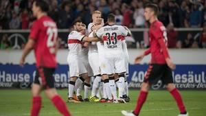 Stuttgart hat den SC Freiburg mit 3:0 besiegt