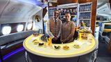 Eine weitere Besonderheit bei Emirates: Die Bar im Heck des Oberdecks, die Passagieren der First und Business Class vorbehalten bleibt.