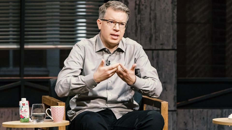 """Frank Thelen in der """"Höhle der Löwen"""""""