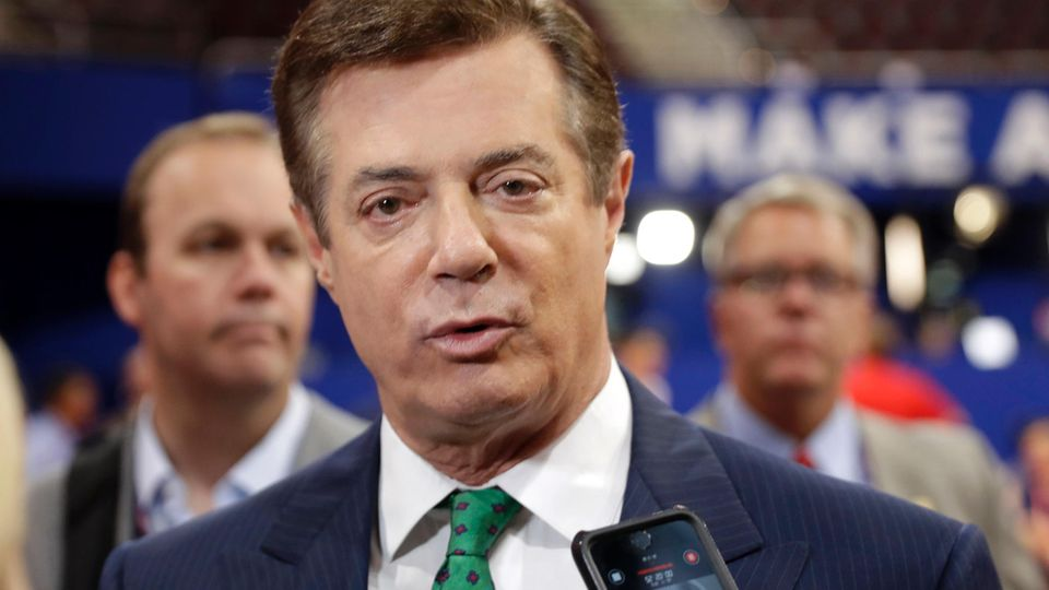 Donald Trumps Ex-Wahlkampfchef Paul Manafort