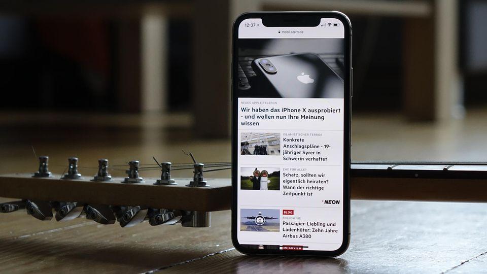 Apple-Smartphone für 1149 Euro: iPhone X im ausführlichen Test: So gut ist Apples Jubiläums-Smartphone