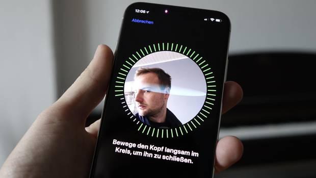 Face ID auf dem iPhone X