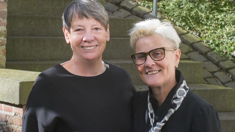 Umweltministerin Barbara Hendricks und ihre Frau Valérie Vauzanges