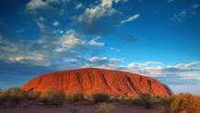 Uluru oder Ayers Rock in Australien