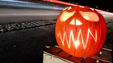 Halloween war einmal mehr Großkampftag für die Polizei in Deutschland (Symbolbild)