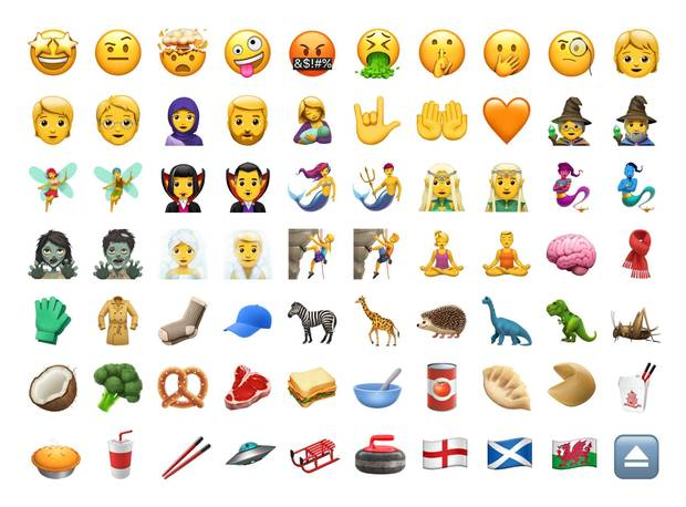 Emoji iPhone iOS 11