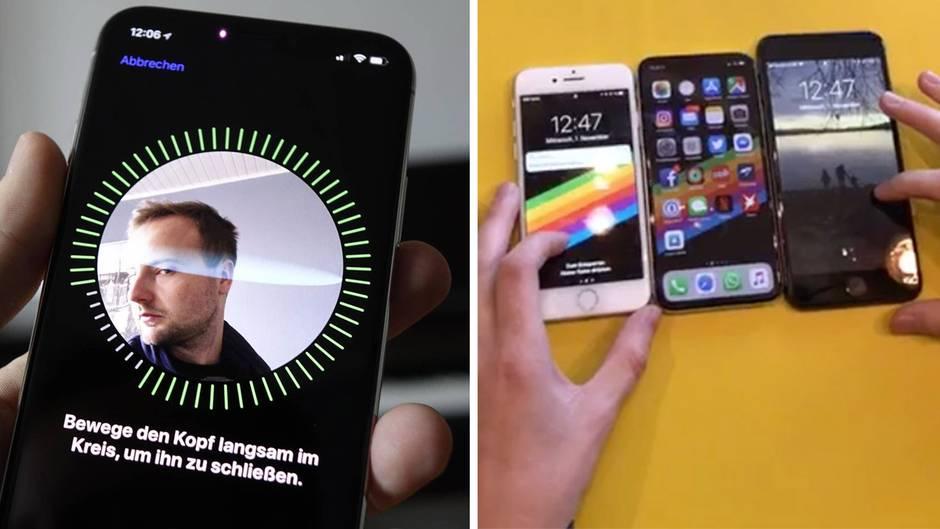 Apple-Smartphone: iPhone X: Wie gut funktioniert die neue Gesichtsentsperrung?