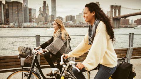 Von Harlem nach Brooklyn: New York für Aktive: Mit dem Rad durch Manhattan
