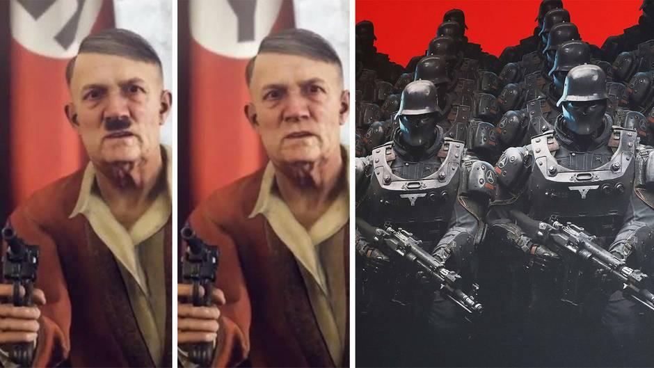 """""""Wolfenstein II: The New Colossus"""": Hitler ohne Hitler-Bart: Die absurde Zensur der Bundesprüfstelle"""