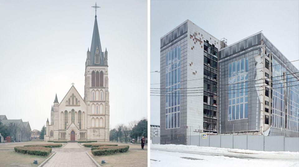 """Fotobuch """"The Potemkin Village"""": Zwischen Kopien, Kulissen und Fake-Fassaden: Diese Pseudo-Städte sind gar nicht echt"""