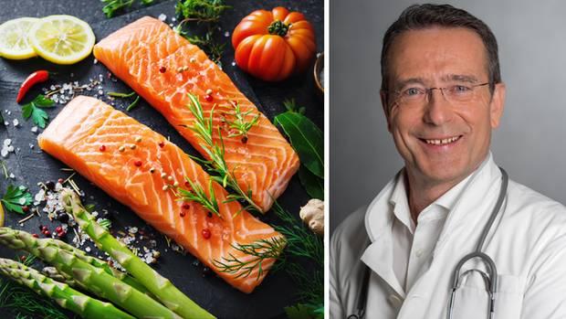 Gesund zum Wunschgewicht? Das funktioniert am besten mit reichlich Gemüse, ausreichend Proteinen und Ballaststoffen, glaubt Mediziner Matthias Riedl