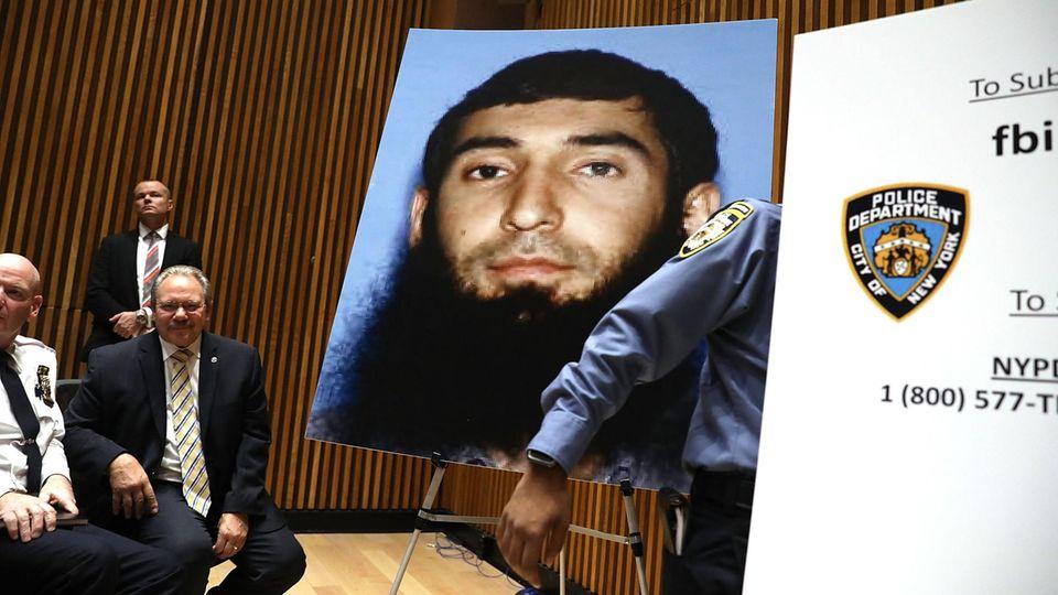New York Attentäter Sayfullo Saipov