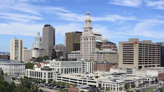 Skyline von Hartford