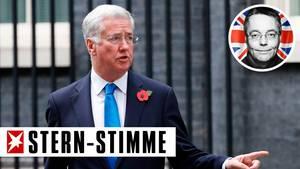 Westminster Michael Fallon Großbritannien