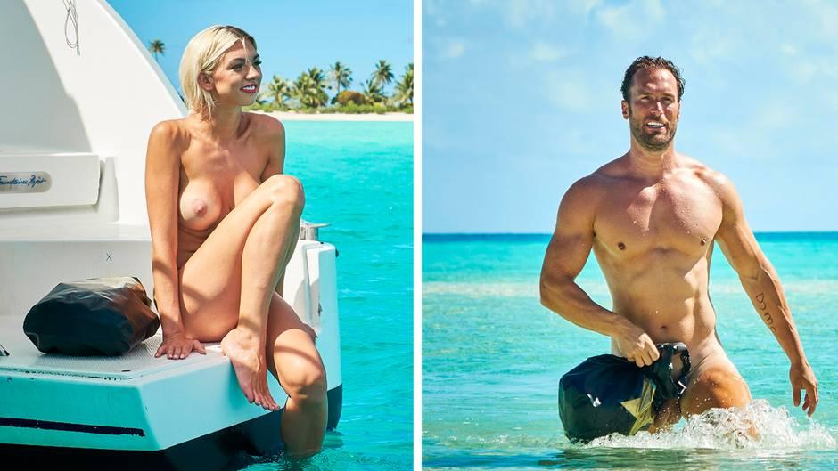 """""""Adam sucht Eva"""": Diese Promis lassen in der Datingshow die Hüllen fallen"""