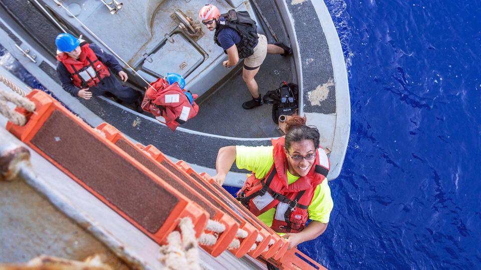 Fünf Punkte, an der die Segel-Überlebens-Story ins Rudern gerät