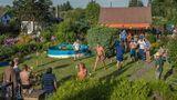 Für manche Schrebergartenbesitzer ist das Koloniefest ist ein großes Spektakel