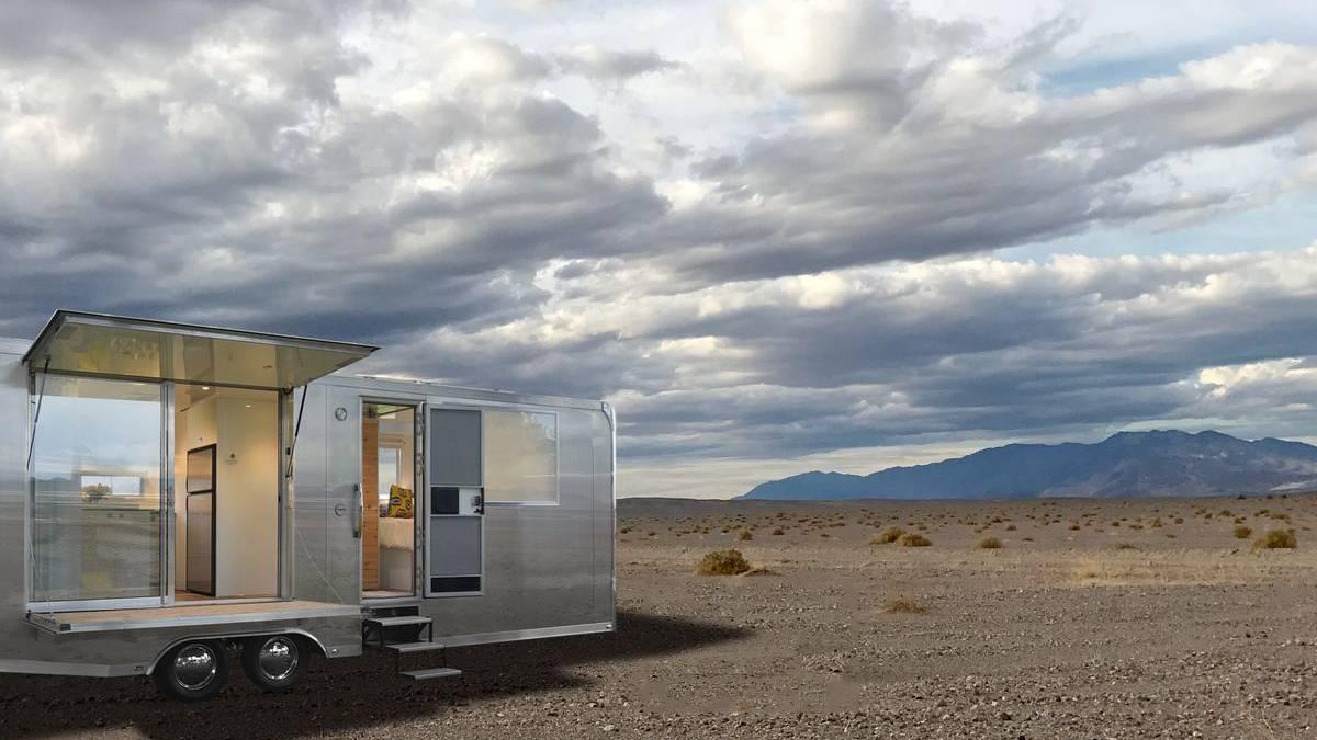 Mobiles Leben : Dieser Offroad Anhänger ist ein rollendes Luxus ...