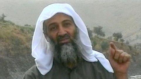 Osama bin Laden bei Al Jazeera im arabischen Fernsehen