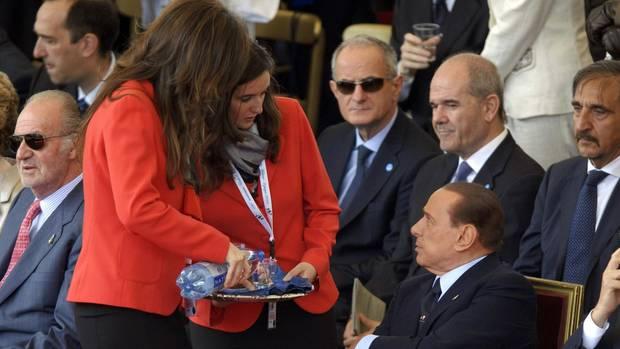 Faible für junge Frauen: Italiens Ex-Ministerpräsident Silvio Berlusconi