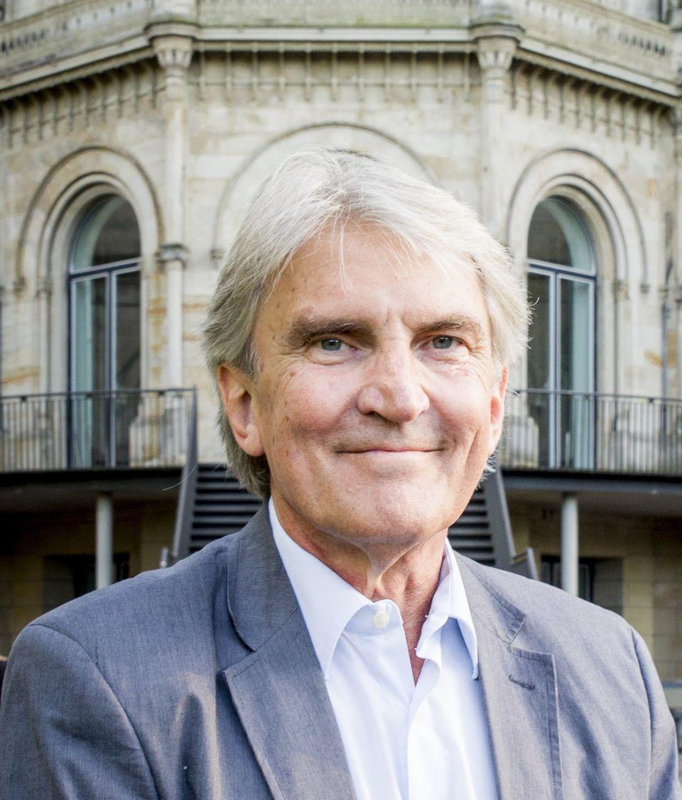 Professor Rolf Pohl, 66, forscht an der Universität Hannover über Männlichkeit und Gewalt