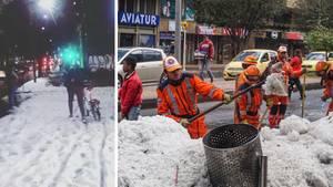 Bogota: Hagelsturm legt Kolumbiens Hauptstadt lahm