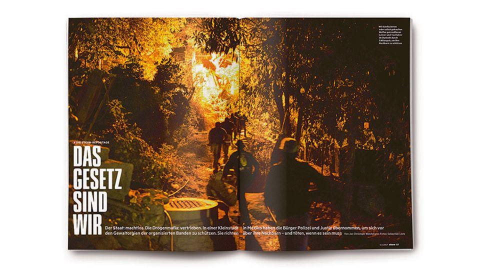 Sebastian Listes Fotoreportage wurde im STERN 23/2017 abgedruckt