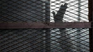 Ein Gefängnis in Ägypten