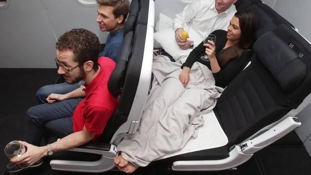 Flugzeug Sitz New Zealand