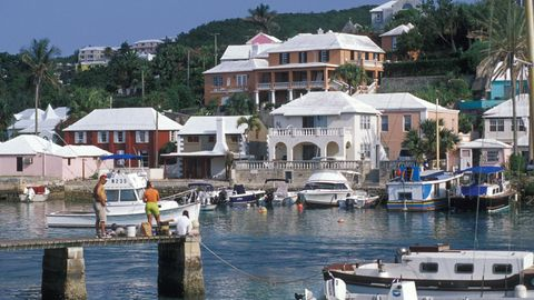 Die Inseln von Bermuda gelten als eine Steueroase