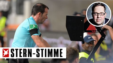 Der Videobeweis in der Fußball-Bundesliga führt immer wieder zu Wartezeiten - nicht nur deshalb steht er in der Kritik